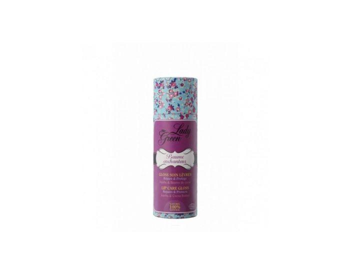 LADY GREEN Gloss Hydratant Lèvres - Framboise - 15ml