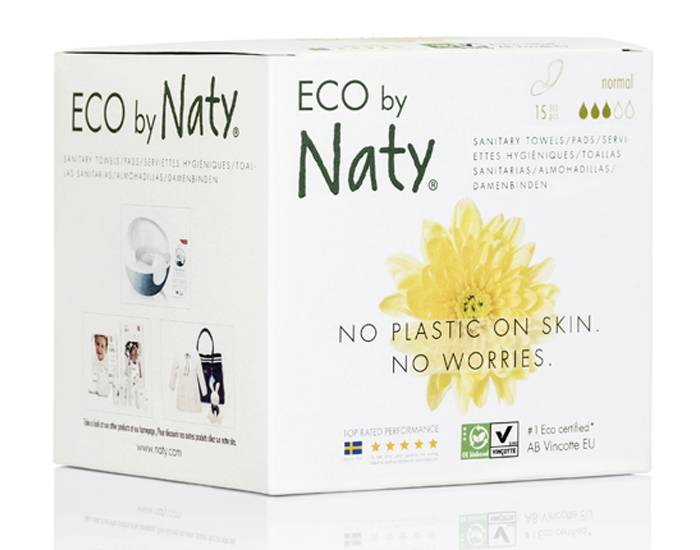 NATY Pack X3 Serviettes Hygiéniques Normal
