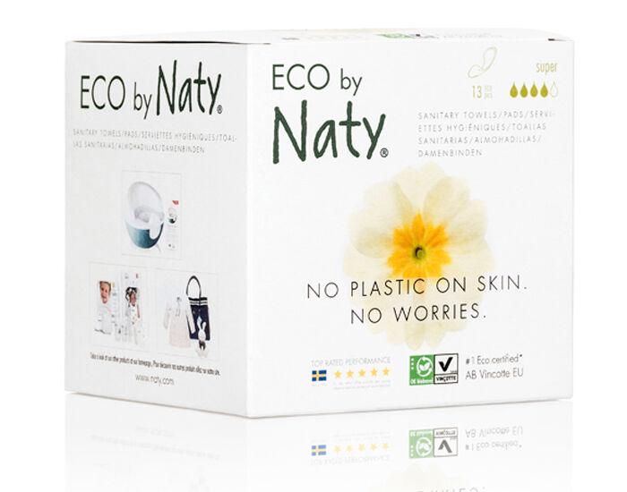 NATY Pack X3 Serviettes Hygiéniques Super