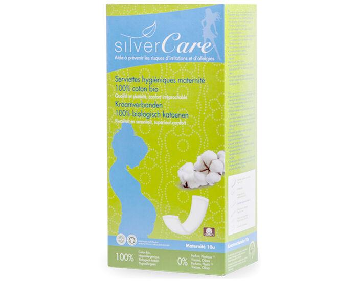 SILVERCARE Serviettes Hygiéniques Maternité - Boite de 10