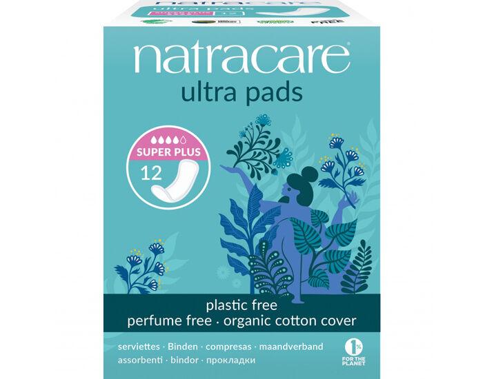 NATRACARE Serviette Hygiénique Ultra Sans Ailettes Super+