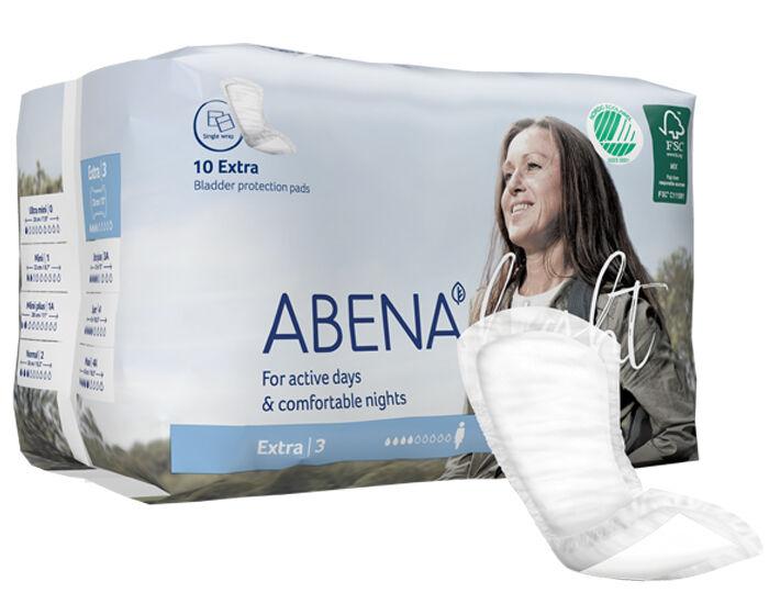 ABENA Light Serviettes Incontinence Extra - Paquet de 10 - 500 ml