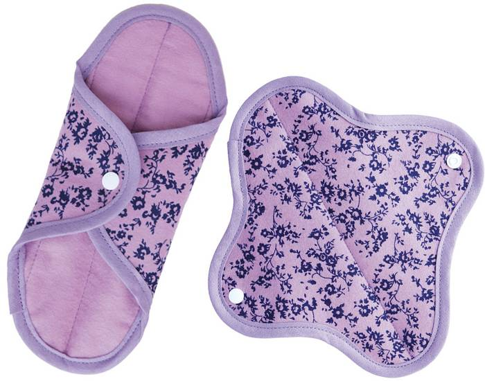 ANAé ANAE Lot de 2 Serviettes Hygiéniques Lavables Coton Bio Maxi