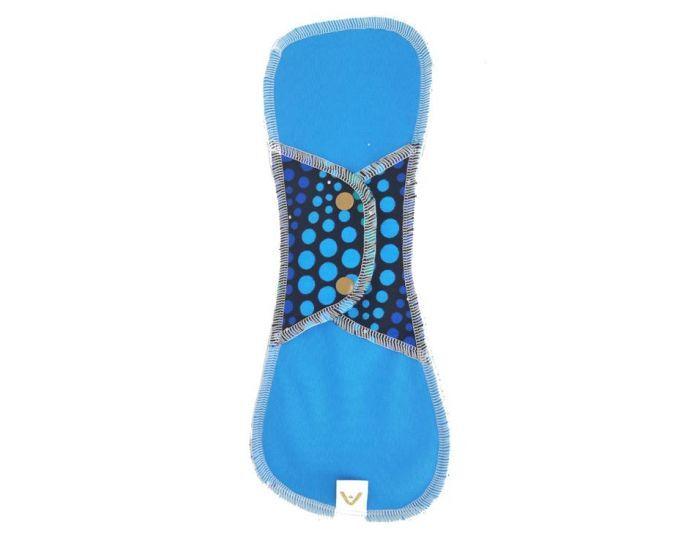 APIAFRIQUE Serviette hygiènique Nuit lavable Bleu foncé
