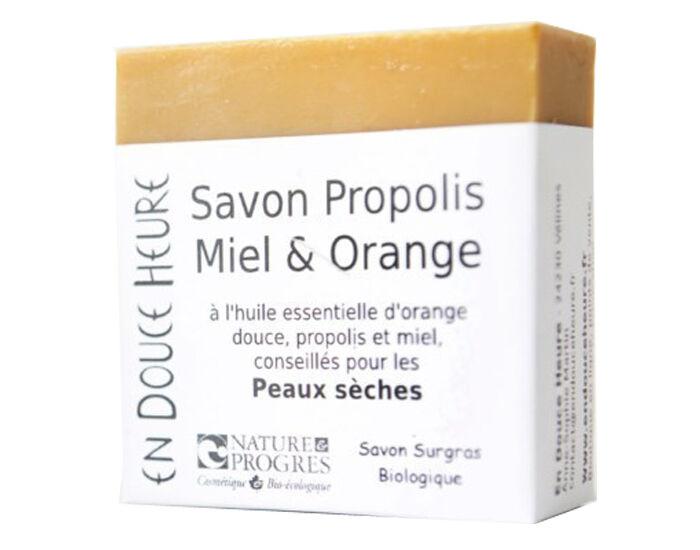 EN DOUCE HEURE Savon sans Huile de Palme - Propolis Miel Orange