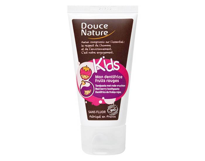 DOUCE NATURE KIDS Mon Dentifrice Fruits Rouges - 50 ml