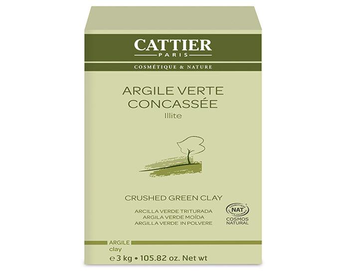 CATTIER Argile Verte Concassée - 3 Kg