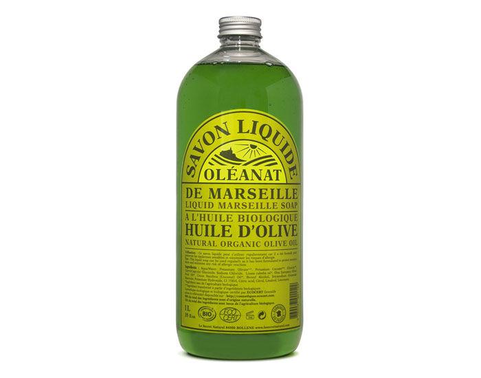 OLéANAT OLEANAT Savon Liquide de Marseille à l'Huile d'Olive 1 L