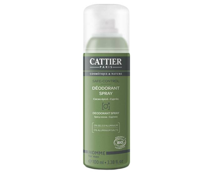 CATTIER Déodorant Homme Spray Safe-control - 100 ml