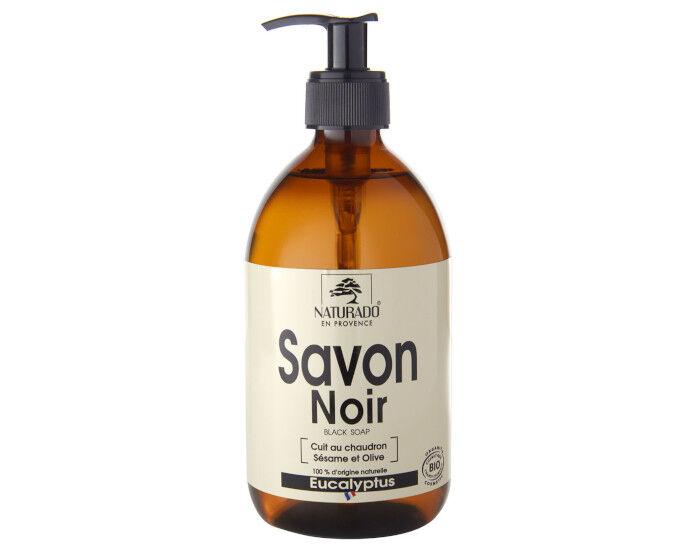 NATURADO Savon Noir Liquide Eucalyptus - 500 ml