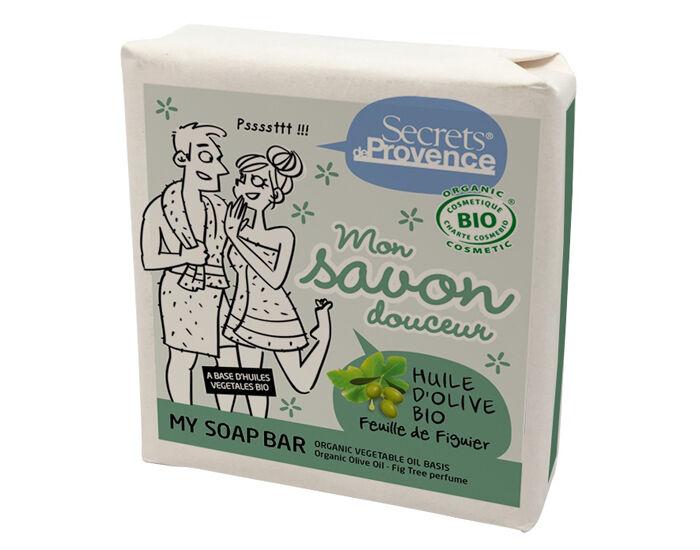 SECRETS DE PROVENCE Mon Savon Douceur - Huile d'Olive Feuille de Figuier - 100g