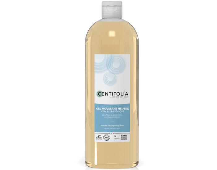 CENTIFOLIA Pack x2 Gel Moussant Neutre - 1L 2 bouteilles