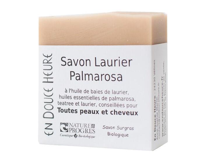 EN DOUCE HEURE Savon Corps et Shampooing Solide Laurier Palmarosa