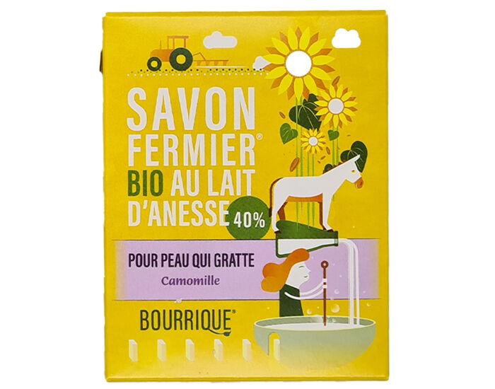 LABORATOIRE PAYSANE Savon Lait d'Anesse et Camomille - Peaux Sensibles ou Atopiques - 100 g