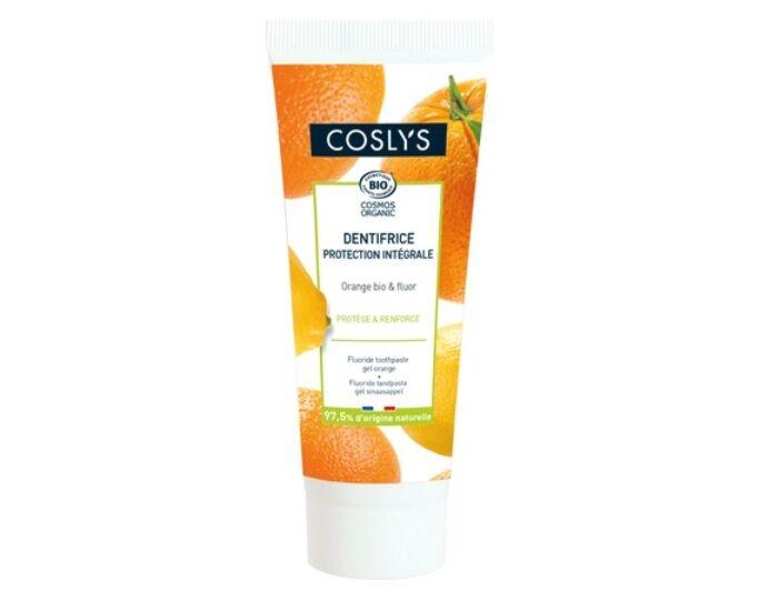 COSLYS Dentifrice Intégral Agrumes et Fluor - 75 ml