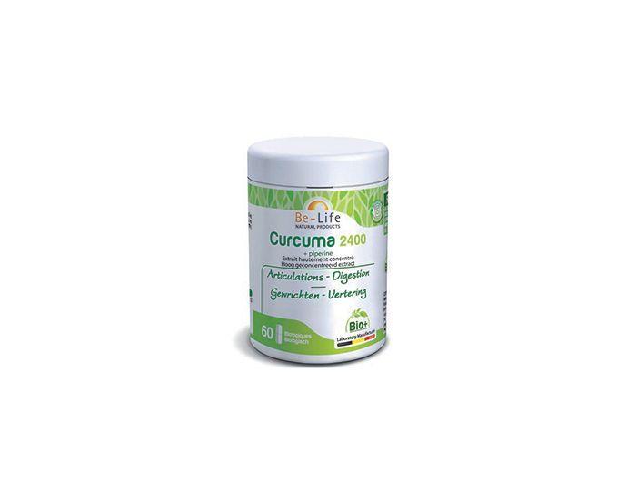 BE-LIFE Curcuma-Piperine 2400 Bio  60 géllules