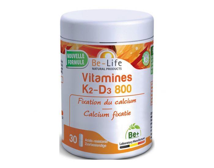 Lechoppebio BE-LIFE Vitamines K2-D3 800 - 30 gélules