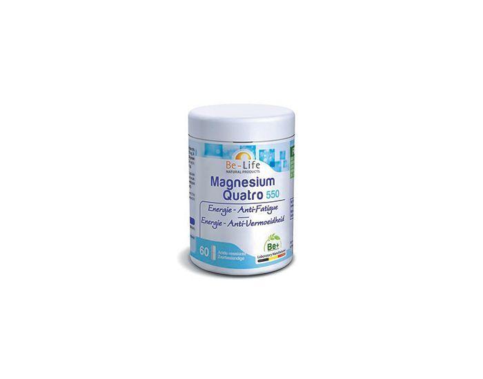 BE-LIFE Magnesium quatro 550 - 60 gélules
