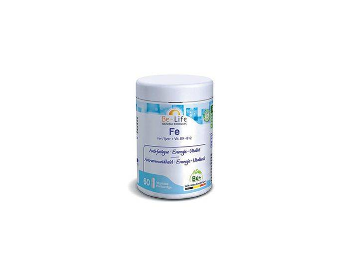 BE-LIFE Fe (VIT. B9 et B12)  - 60 gélules