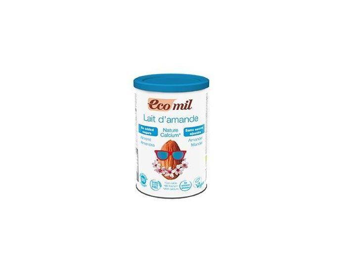 ECOMIL Lait Amandes-Calcium Instantané Nature Bio - 400g