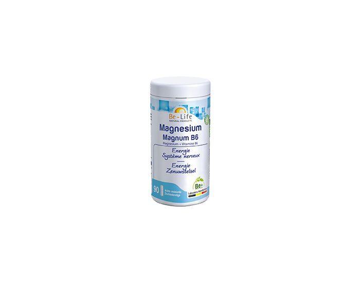 BE-LIFE Magnésium magnum + B6 - 90 gélules