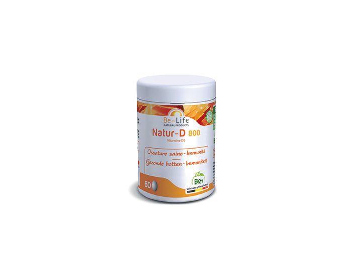 BE-LIFE Natur-D 800 (Vitamine D3) 200 capsules