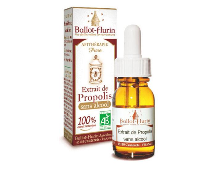 BALLOT-FLURIN Complément alimentaire Extrait de Propolis Sans Alcool - 15 ml - Dès 3 ans