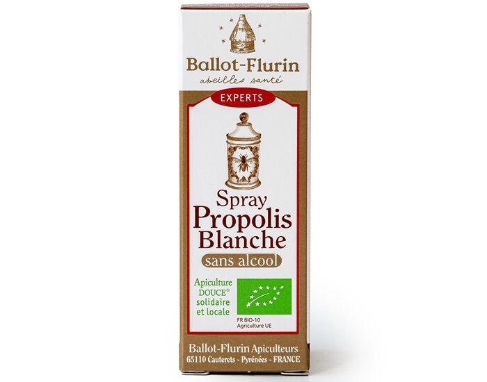 BALLOT-FLURIN Complément alimentaire Spray Propolis Blanche Sans Alcool - 15 ml - Dès 3 ans