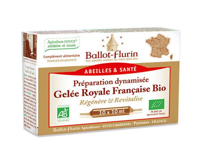 BALLOT-FLURIN Complément Alimentaire Gelée Royale - 10 Ampoules de 10 ml - Dès 3 ans
