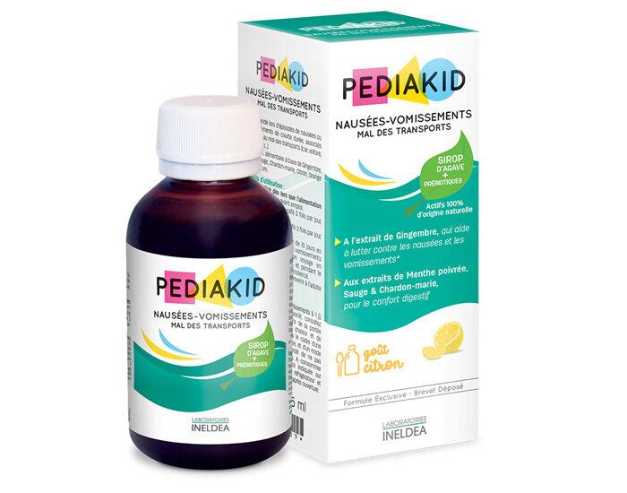 PEDIAKID Complément alimentaire aux plantes et minéraux - Citron - Dès 6 mois - 125 ml