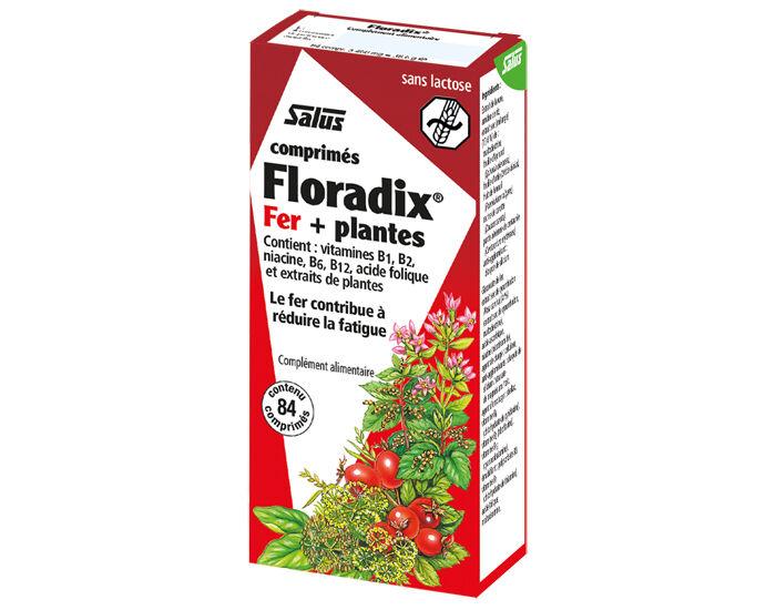 SALUS Complément Alimentaire Fer + Plantes - 84 Comprimés