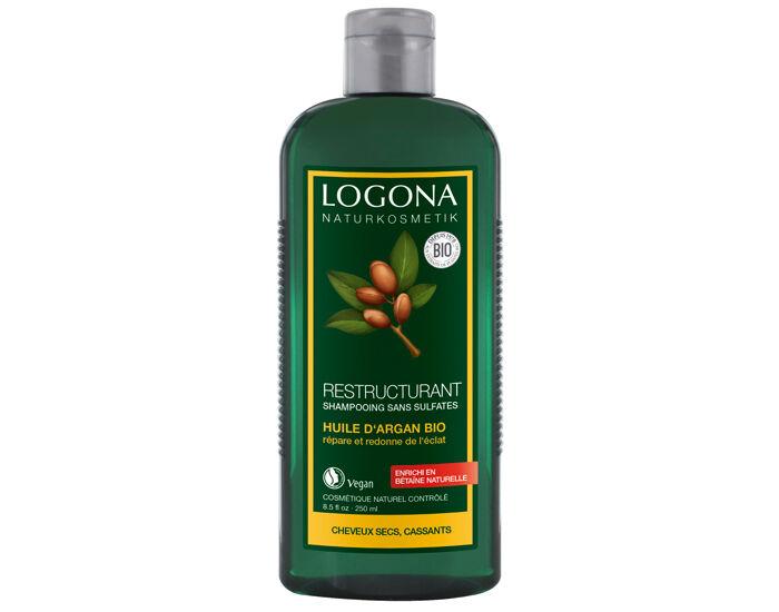 LOGONA Shampooing Brillance et Réparation Argan - 250ml