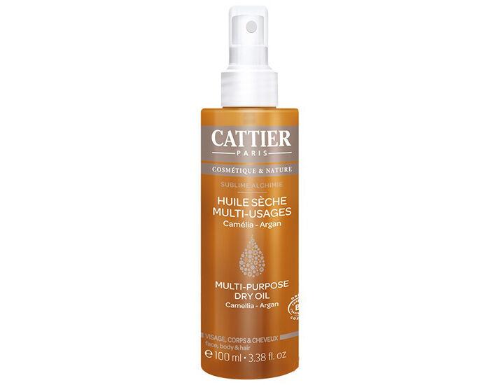 CATTIER Huile Sèche Multi-usages Sublime Alchimie - 100 ml
