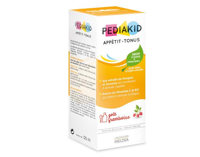 PEDIAKID Complément Alimentaire aux Plantes Goût Framboise - Dès 6 mois -125 ml