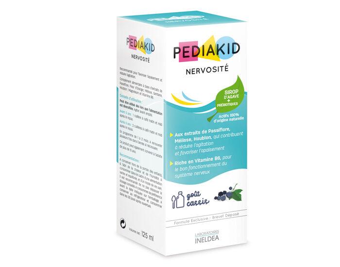 PEDIAKID Complément Alimentaire aux Plantes Goût Cassis - Dès 6 mois  125 ml