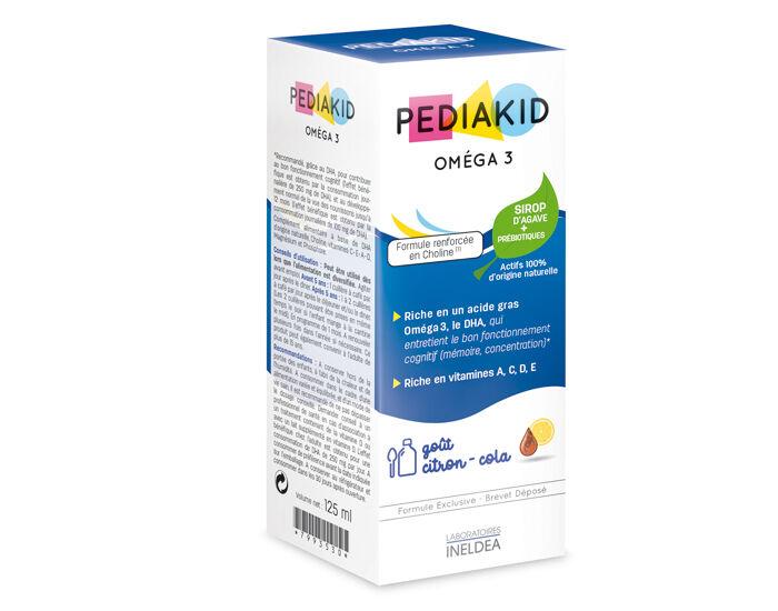 PEDIAKID Complément alimentaire Oméga 3 - Dès 6 mois - 125 ml