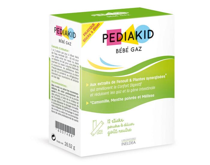 PEDIAKID Complément Alimentaire aux Fenouil et Plantes - 12 Sticks à Diluer