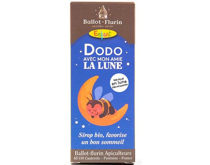 BALLOT-FLURIN Sirop Dodo avec Mon Amie la Lune - Complément Alimentaire 100 ml - Dès 3 ans