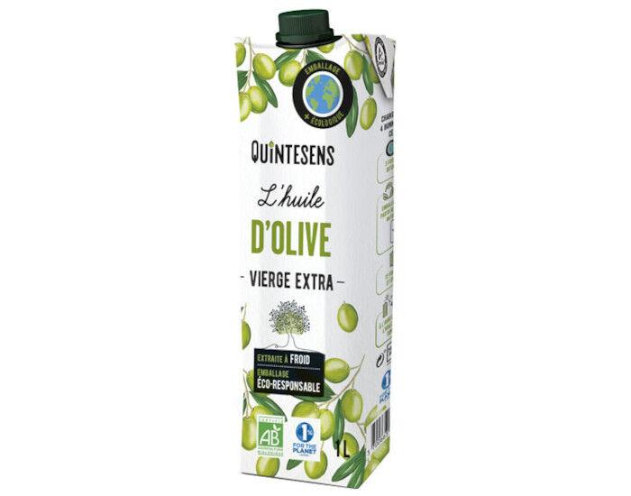 QUINTESENS Huile d'Olive Vierge Extra Bio - 1 L