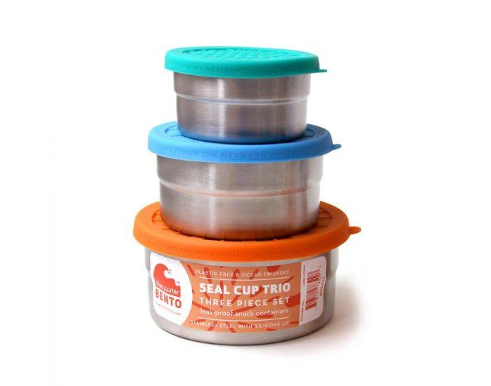 ECOLUNCH BOX Lunch Box Seal cup trio