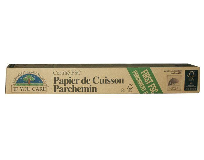 IF YOU CARE Papier Cuisson FSC non-Blanchi