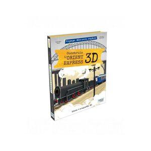 SASSI JUNIOR Construis l'Orient Express - Livre 3D - Dès 6 Ans