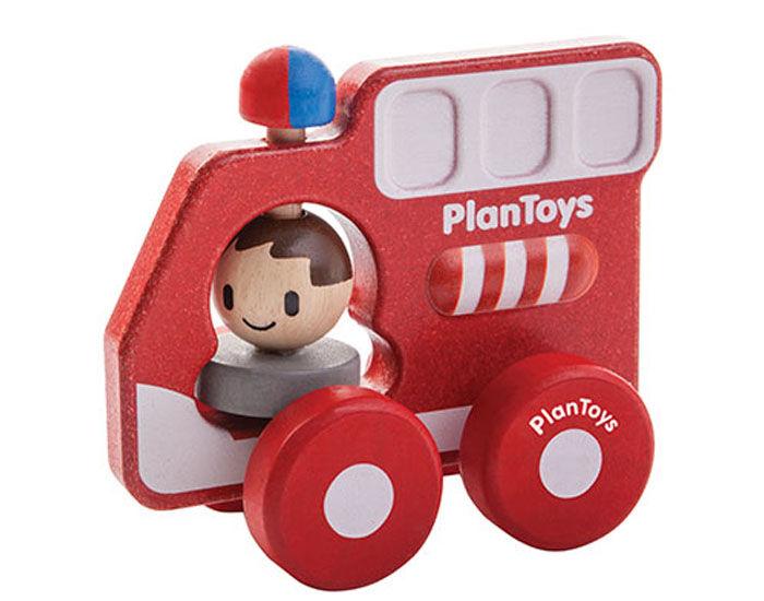 PLAN TOYS Mon Premier Camion de Pompiers - Dès 12 mois