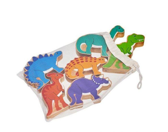 ARTISANS DU MONDE Figurines en Bois Dinosaures - Dès 1 an.