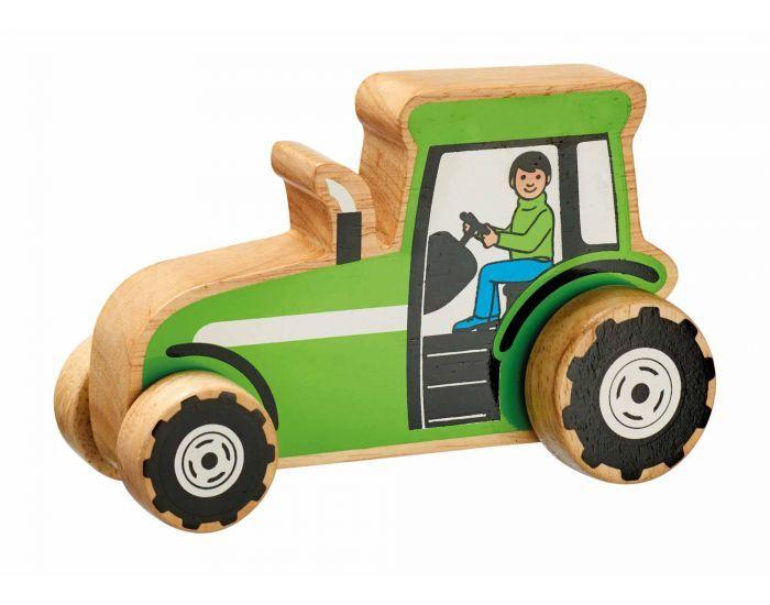 ARTISANS DU MONDE Tracteur à Roulettes en Bois - Dès 1 An