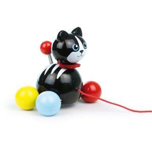 VILAC Minou le chat - jouet à traîner - Dès 18 mois