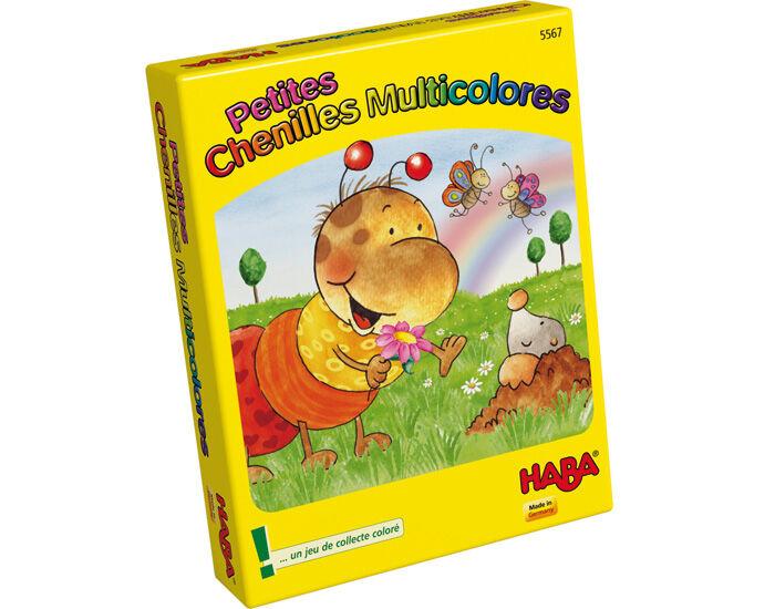 HABA Jeu de Cartes - Petites Chenilles Multicolores - Dès 3 ans