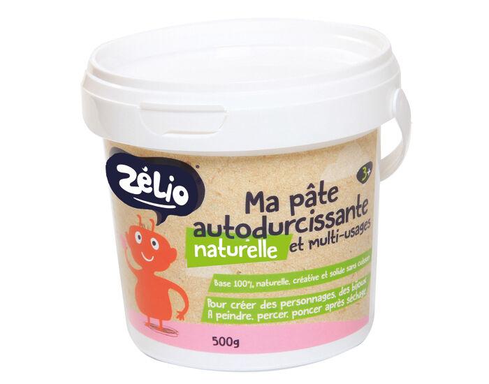 ZéLIO ZELIO Pâte Autodurcissante Écologique - Dès 3 ans - 500 g