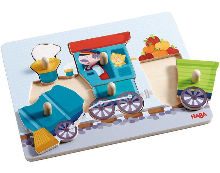 HABA Puzzle Train - Dès 12 mois