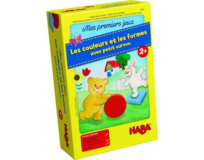 HABA Premiers jeux couleurs et formes petit ourson - Dès 2 ans
